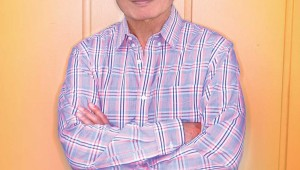 George Takei talks about his colorful life and career at UNT, Monday.