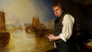"Timothy Spall executes his latest seascape in ""Mr. Turner."""