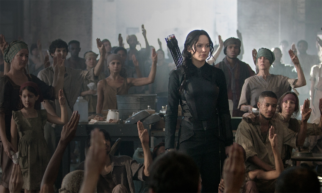 The Hunger Games: Mockingjay Part I opens Friday.