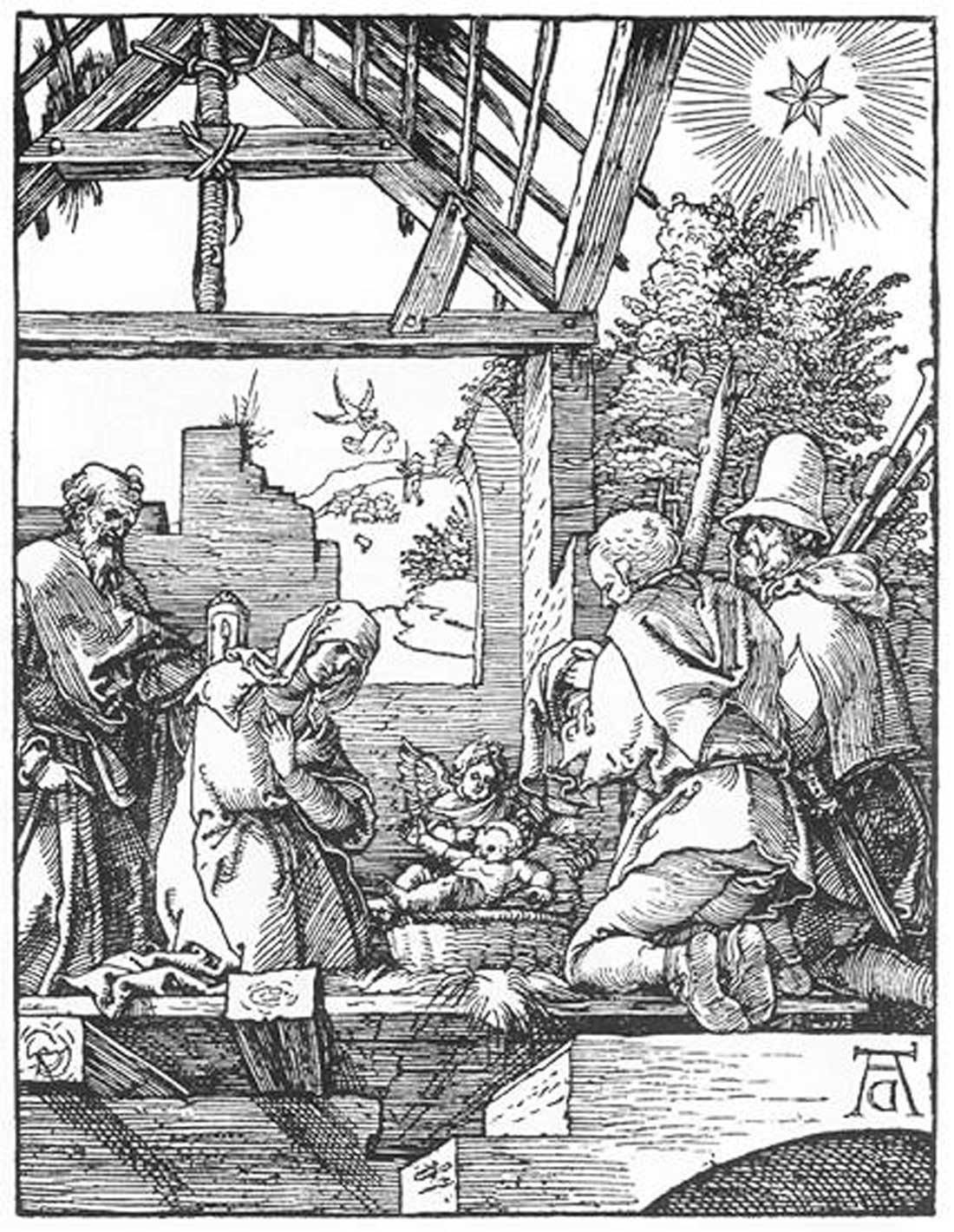 "Albrecht Dürer's ""The Nativity"" is on display at AMA."
