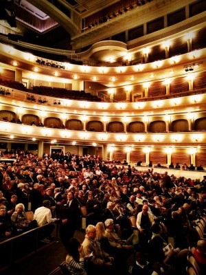 Bass Hall was packed with music fans on Wednesday but not for a live