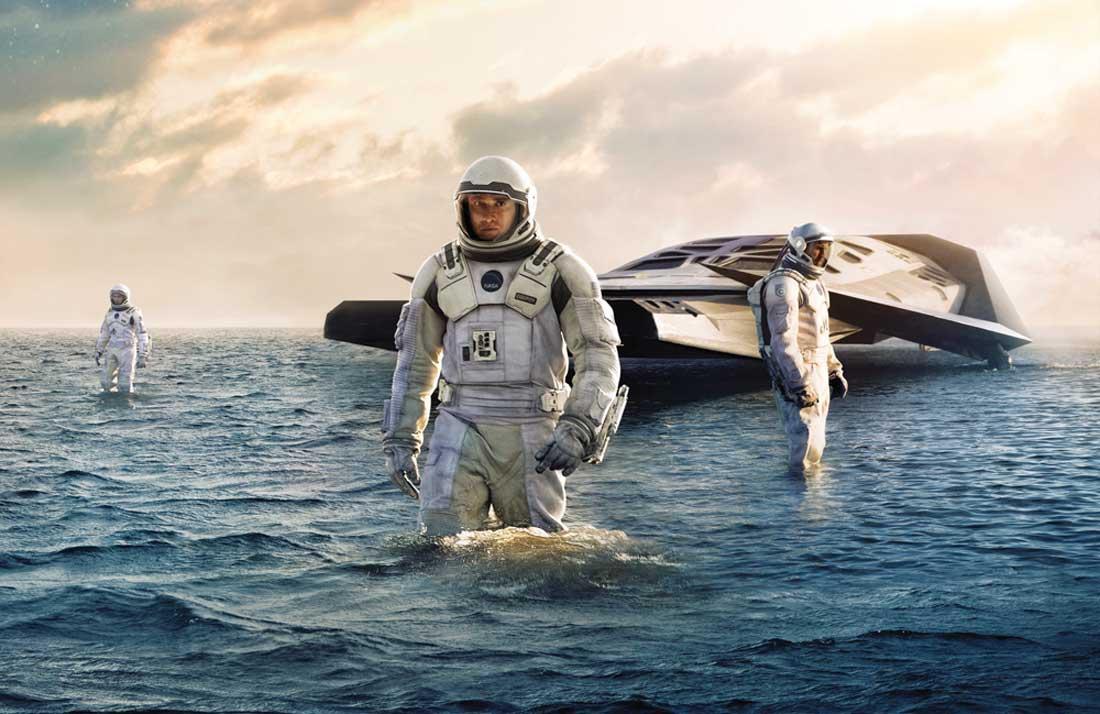 Matthew McConaughey explores a whole new world in Interstellar.
