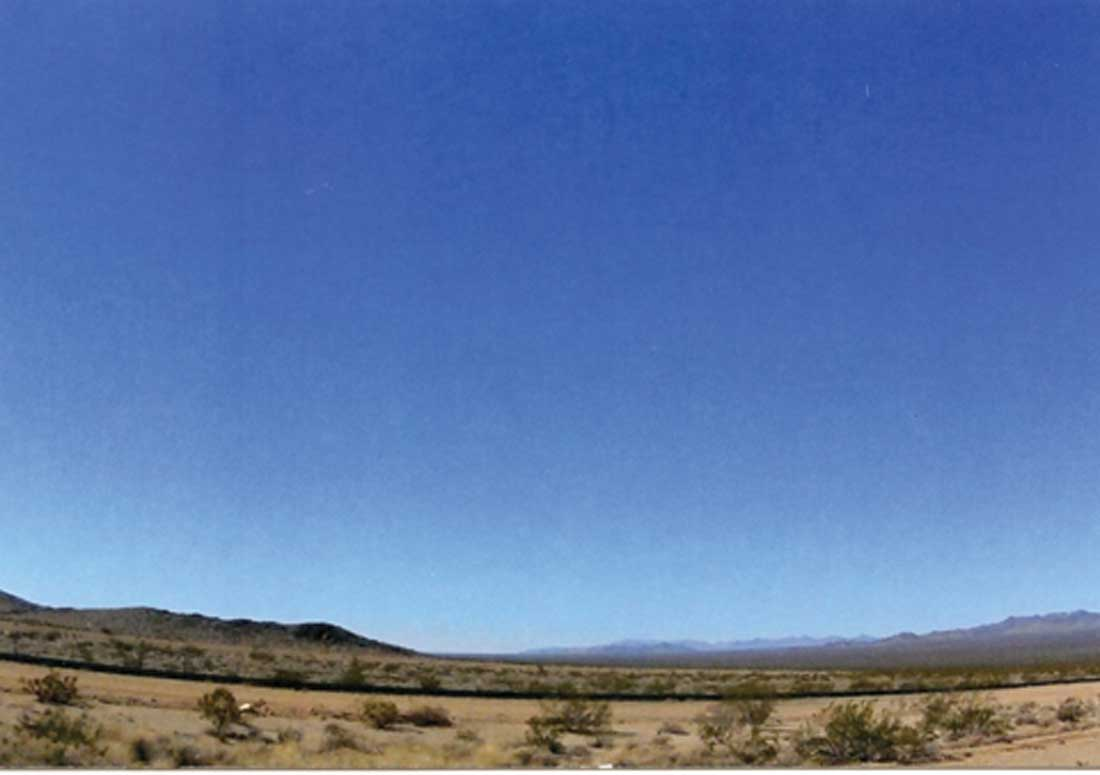 """Billy Hassell's """"Roadrunner South of Marfa"""""""