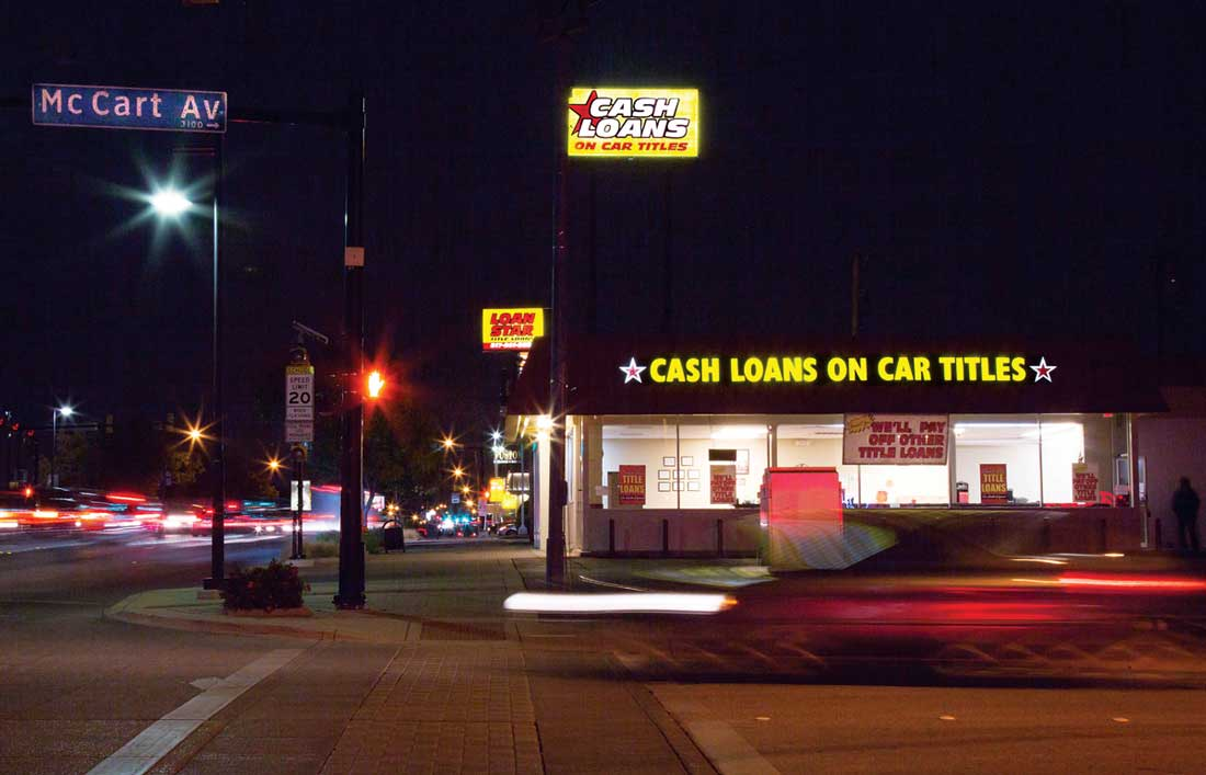 Texas is a favorite state for high-interest payday lenders, and Fort Worth resists their regulation.