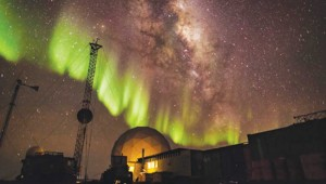 The Southern Lights flicker in Antarctica: A Year on Ice