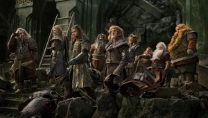 "The dwarves make a last stand at their fortress in ""The Hobbit: The Battle of Five Armies."""