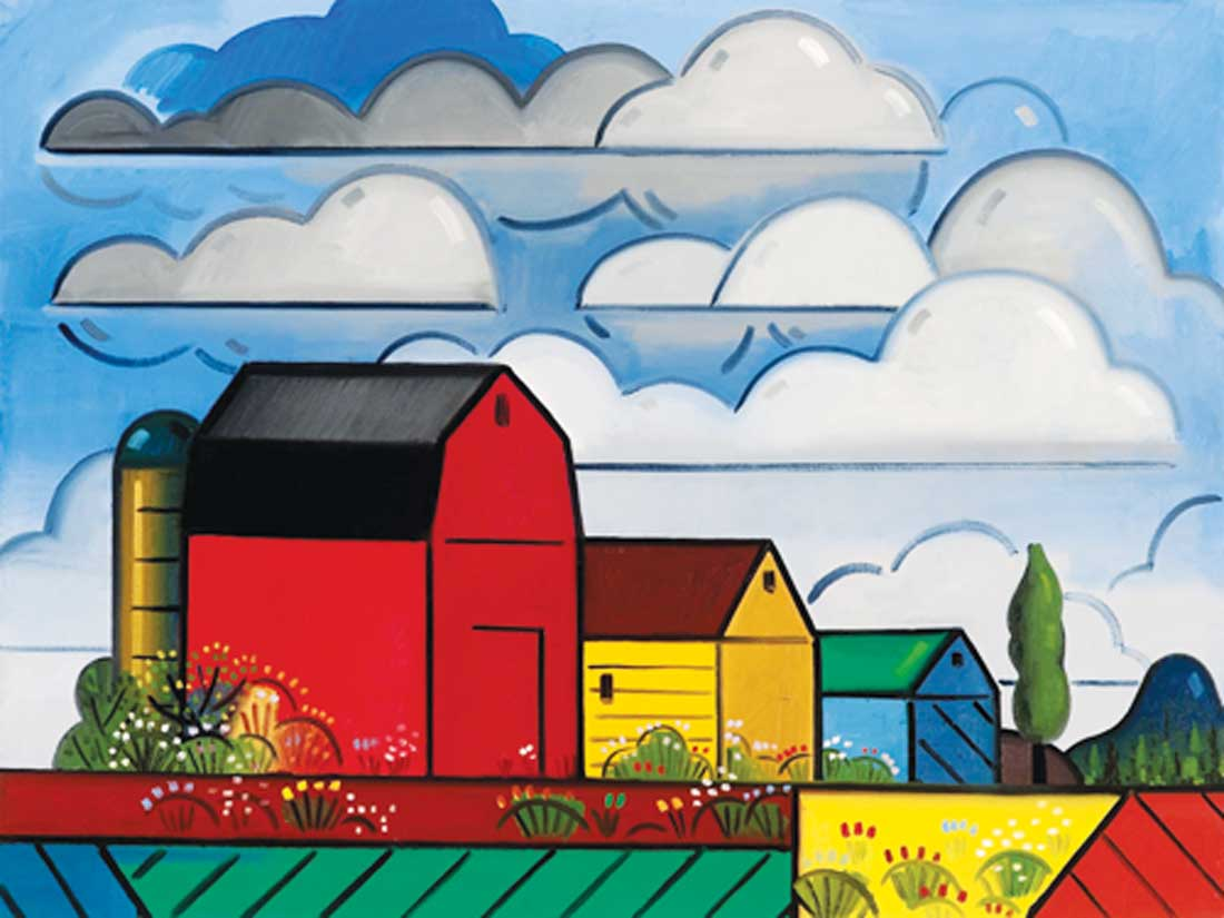 "Richard Thompson's ""Painter's Farm #7"""