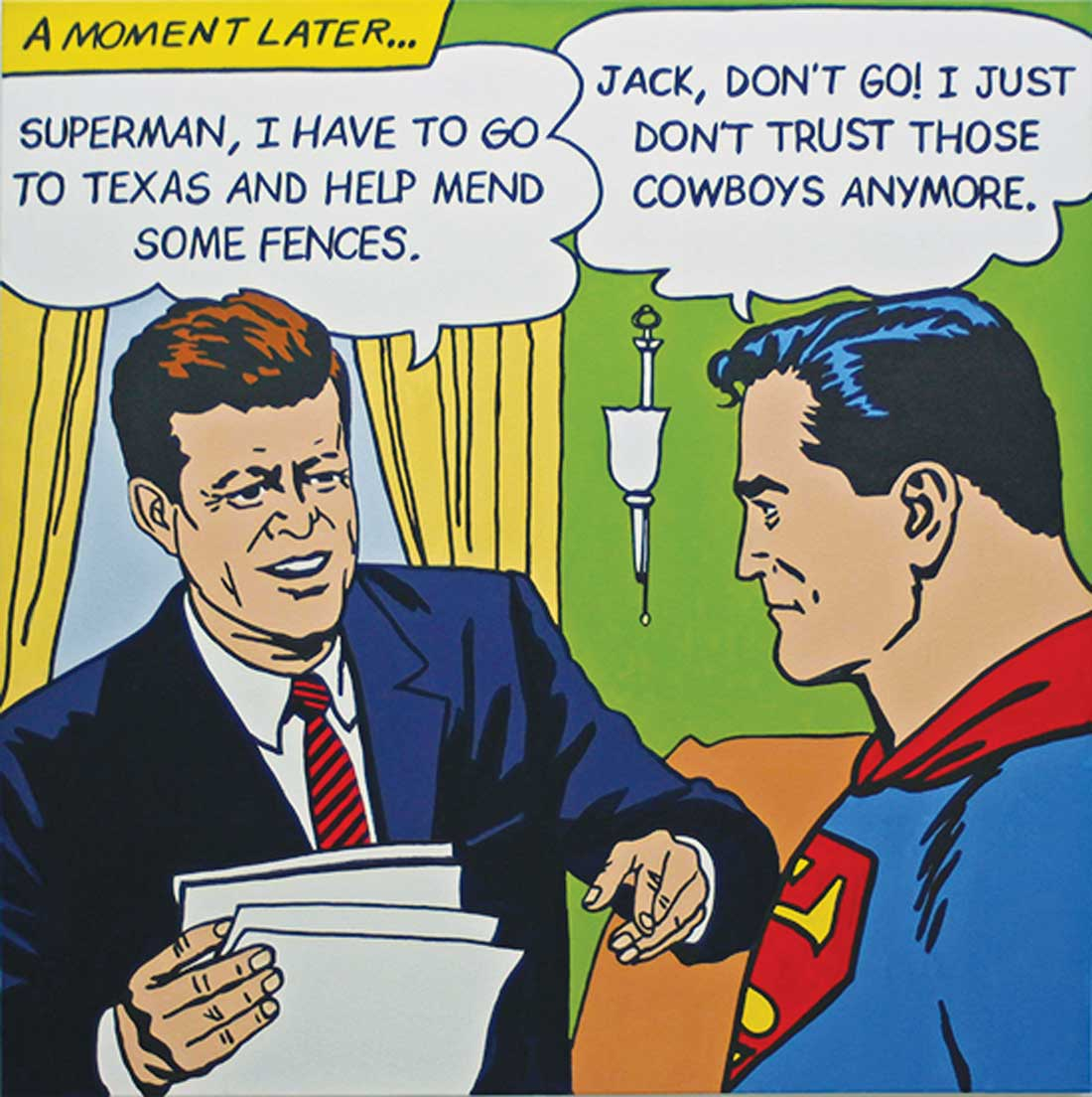 "Superman has some advice for ""Jack."""