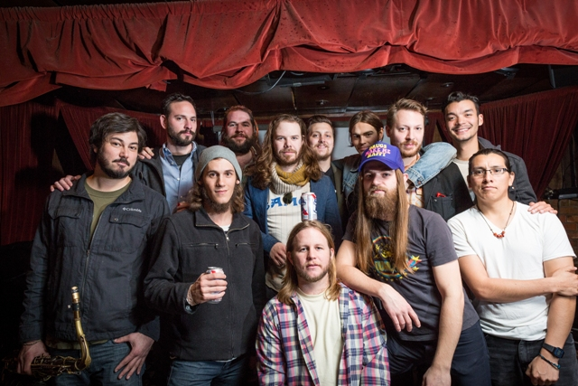 The Hanna Barbarians -- all current and past members; most of them are shown here -- will be dearly missed. Come send them off in style Friday at Lola's and Saturday, Jan. 17, at The Grotto. Photo by Vishal Malhotra.