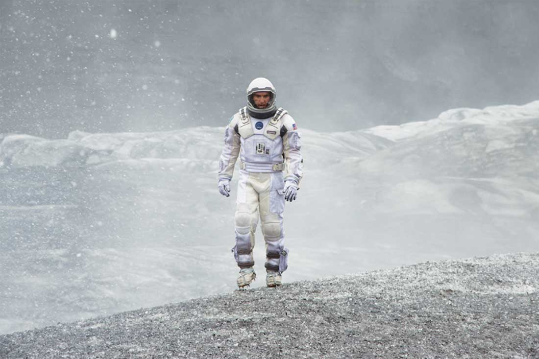Matthew McConaughey in Interstellar, at FWMSH's IMAX theater.