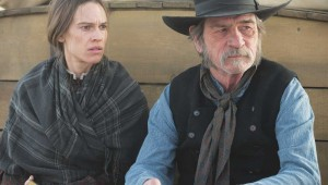 Hilary Swank and Tommy Lee Jones plan a long trip over wild country in The Homesman.