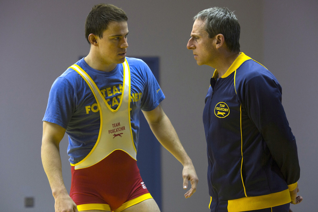 Foxcatcher now playing.