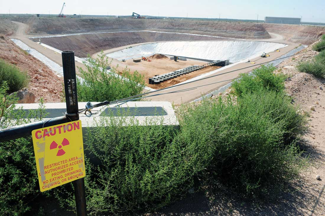 Opponents of expanding the nuclear disposal site in Andrews County say it's not safe for high-level waste. David Bowser