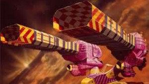 "Concept art of a spaceship from ""Jodorowsky's Dune."""