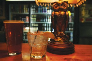 The drinks are cheap and cold at The Boiled Owl Tavern, a colorful and chic dive on the happenin' Near Southside.