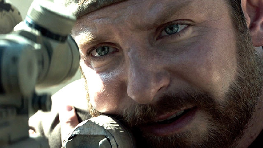 Bradley Cooper takes aim in
