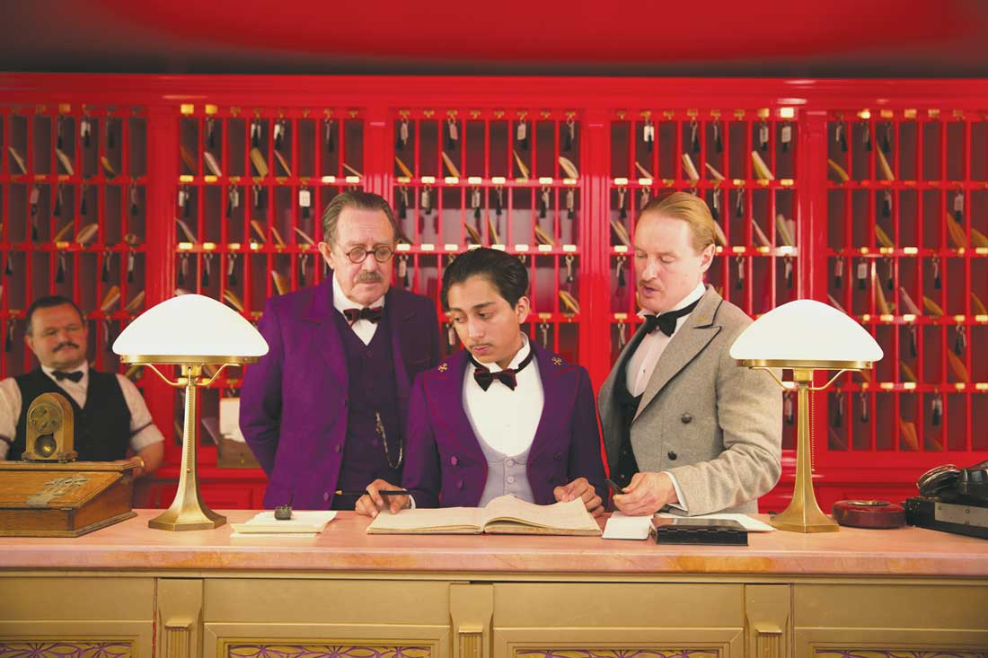 Milena Canonero's costumes are Oscar-worthy in The Grand Budapest Hotel.