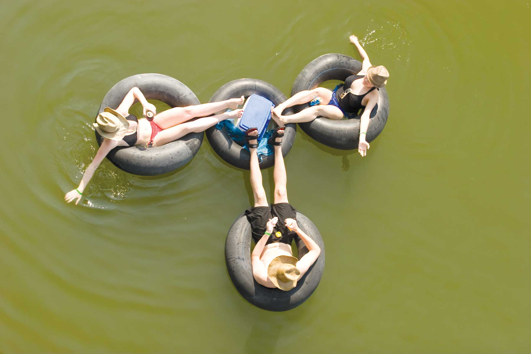 Trinity River Tubers