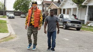 "Will Ferrell tries to dress ghetto and Kevin Hart is unimpressed in ""Get Hard."""