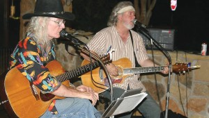 James Michael Taylor and our own Jeff Prince run a songwriting demonstration as part of Wildcatter Exchange, Thu-Sun.