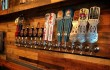 The tap wall apportioned with only Texas-brewed beer.