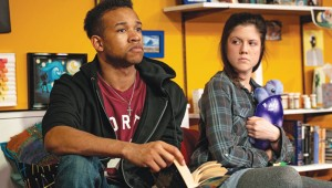 Nate Davis and Mackie Louis star in Circle Theatre's I and You.