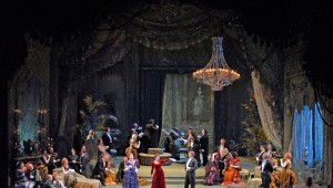 La Traviata at the Fort Worth Opera.