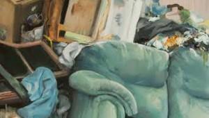 """Brenna Schraufnagel's """"Mint Couch"""""""