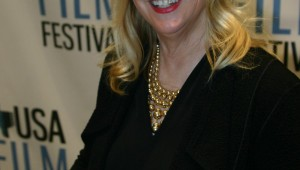 CANDY CLARK WAS THE GUEST ATTRACTION AT THE USA FILM FESTIVAL'S RECENT SCREENING OF THE MAN WHO FELL TO EARTH (photo by Jeff Prince)