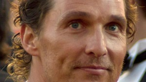 MATTHEW MCCONAUGHEY, VOICE OF A VERY STONED GENERATION.