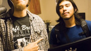 Tornup (left) and DJ Berto G have become a force for socially conscious hip-hop in North Texas.