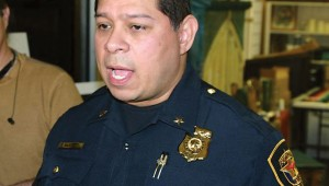 Deputy Police Chief Charlie Ramirez is trying to assuage hard feelings in the community. Photo by Jeff Prince.
