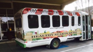 THE VEGGIE VAN IS ROLLING (photo courtesy of Cold Springs Farm)