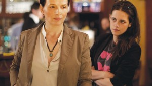 Juliette Binoche and Kristen Stewart star in Clouds of Sils Maria at the Modern.