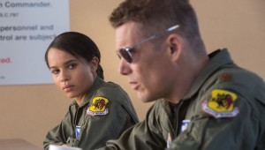 Zoë Kravitz and Ethan Hawke take a break from operating drones in Good Kill.