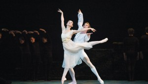 Olga Parlora and Yegeny Afinogenov dance at Mejia Ballet International's spring concert.