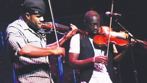 Black Violin plays at Levitt Pavilion, Sat.