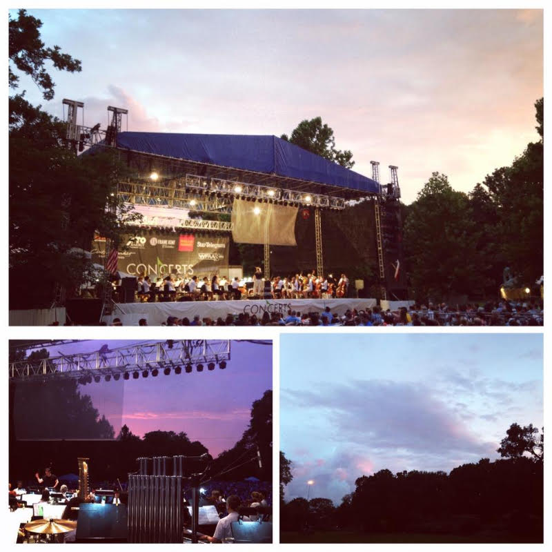 Concert Review Fort Worth Symphony Orchestra 39 S Concerts In The Garden Star Wars Beyond