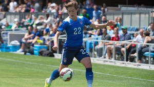 Meghan Klingenberg helped preserve a draw for USA against Sweden.