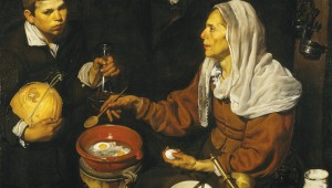 "Velázquez' ""An Old Woman Cooking Eggs"" is at the Kimbell's new show."