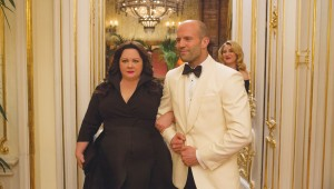 Melissa McCarthy and Jason Statham make like suave secret agents in Spy.