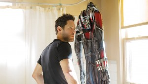 Scott Lang vs. The World: Paul Rudd ponders the meaning of this suit in Ant-Man.