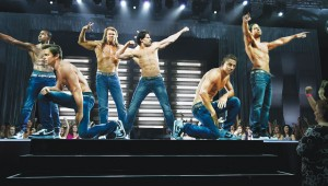 Channing Tatum (second from right) and company are abs-olutely fabulous in Magic Mike XXL.