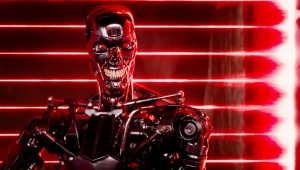 Hang on, it's yet another Terminator come to snuff out John and Sarah Connor in Terminator Genisys.