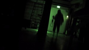 "This thing stalks our heroes through the halls of their high school in ""The Gallows."""