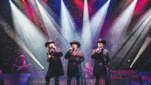 The Texas Tenors close out another season of Concerts in the Garden, Sun.