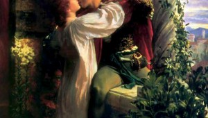 ROMEO AND JULIET PAINTING BY SIR FRANCIS BERNARD DICKSEE (courtesy of wikipedia).