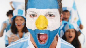 Maybe this guy will show up to the Mexico vs. Argentina game at AT&T Stadium, Tuesday.