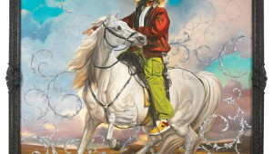 """Colonel Platoff on His Charger"" is one of the celebrated artworks at the Modern's Kehinde Wiley: A New Republic."