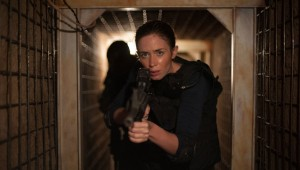 "Emily Blunt's job takes her to a dark place in ""Sicario."""